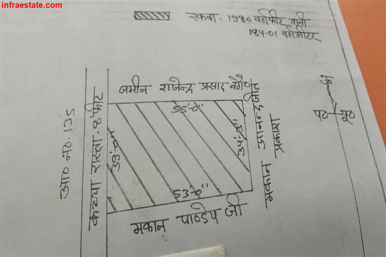 1980 Sqft Plot Sale at Kanchanpur, DLW